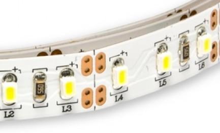 Фото1 HID3-WW Тёпло-белая LED лента, 120xSMD3020