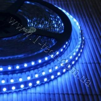 Фото1 HID4-B Синяя LED лента, 120xSMD3528