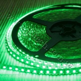 Фото1 HID4-G Зелёная LED лента, 120xSMD3528