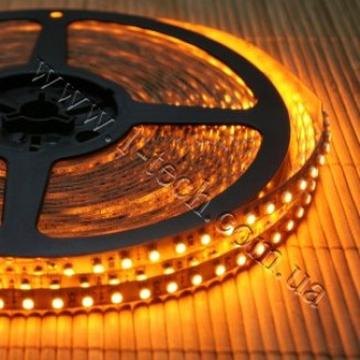 Фото1 HID4-Y Оранжевая (жёлтая) LED лента, 120xSMD3528