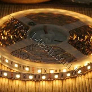 Фото1 ID3-WW Тёпло-белая LED лента, 60xSMD5050