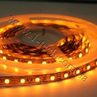 Фото1 ID3-Y Оранжевая (жёлтая) LED лента, 60xSMD5050