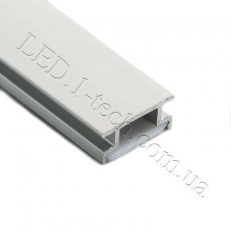 Фото4 Профиль алюминиевый для светодиодных лент №4Е встраиваемый в пол 19х8мм (комплект)