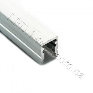 Фото3 Профиль алюминиевый №22 для светодиодных лент накладной 13х10мм (комплект)