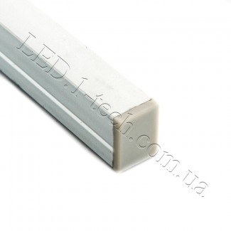 Фото5 Профиль алюминиевый №22 для светодиодных лент накладной 13х10мм (комплект)