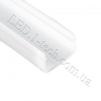 Фото2 Стекло-рассеиватель для LED профиля №2 прямоугольный матовый 21х15х1000мм