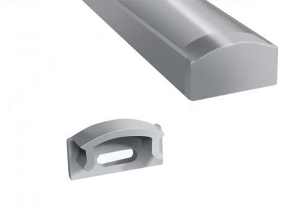 Фото1 ЗП-7 - Торцевая заглушка для LED профиля серии ЛП высотой 7мм, без отверстия, цвет - серый