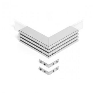 Фото1 ZM-PION-.. Соединители угловые для LED-профилей KLUS