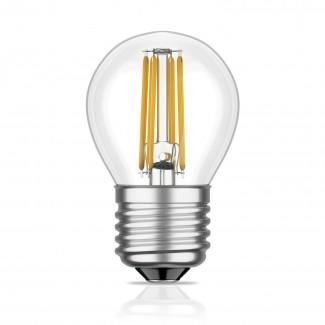 Фото1 SLL E27-G45-4W - LED лампа филамент, 4W, тип G45, цоколь E27, круглая