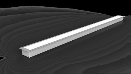 Фото5 LE6332 - LED профиль врезной, комплект