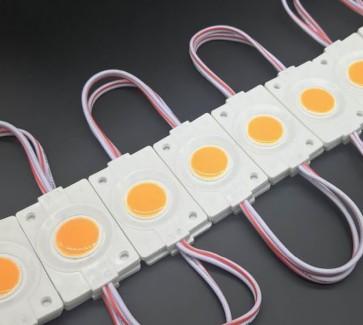 Фото1 # 97 МТК-СОВ-Round-1Led-W-2,4W - LED модуль COB с линзой, 12V, 2.4W, 8000K, IP65