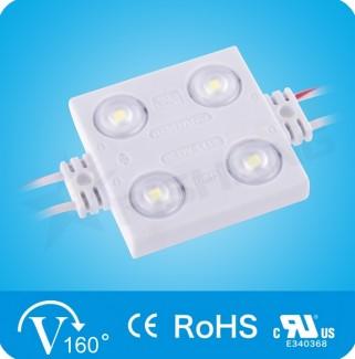 Фото1 LED модули SMD 2835 с линзой (угол расс. 160°), Rishang (КНР)