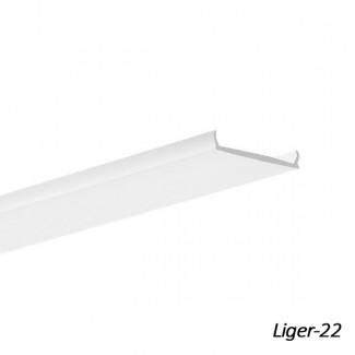 Фото1 LIGER-22 - Рассеиватель молочный для профилей KLUS