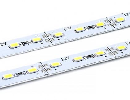 Фото1 MTK2-5630U..G-12.. - LED линейка на клеевой основе (скотч), SMD 5630, длина 100 см, 72 диода, 18W