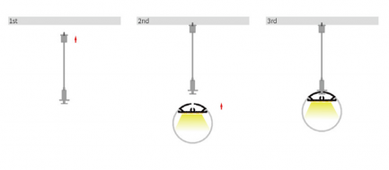 Фото3 LO30301_2 - LED алюминиевый профиль LO30301, d=30мм, 2 м
