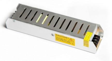 Фото1 PSL12VDC-5A-60W - Блок питания постоянного напряжения, 12V 5A, 60W, серия LONG