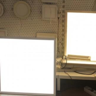 Фото4 Светодиодная панель с ДУ регулировкой яркости и цветовой температуры 600х600мм