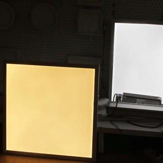 Фото3 Светодиодная панель с ДУ регулировкой яркости и цветовой температуры 600х600мм