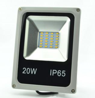 Фото2 SLIM-SMD.0..-MS Плоский LED прожектор со встроенным датчиком движения, SMD5730, IP65
