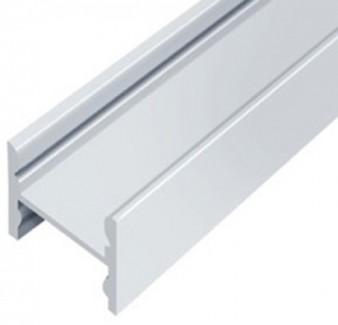 Фото1 LED-профиль ЛПС-12 - для лент П-образный под клипсы, вн.ширина 12,3 мм, размеры 12*16*2000 мм (стекл