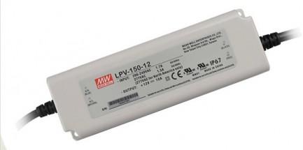 Фото1 LPV-150-12 - Блок питания герметичный 12 Вольт, 120W, 10 A