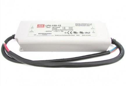 Фото2 LPV-150-12 - Блок питания герметичный 12 Вольт, 120W, 10 A