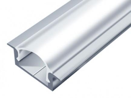 Фото2 LED-профиль ЛПВ-7 - для лент П-образный с фланцем, вн.ширина 12,3 мм, размеры 7*16(22)*2000 мм (стек