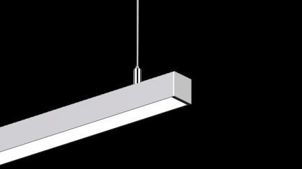 Фото4 LS3535 - LED профиль подвесной, комплект