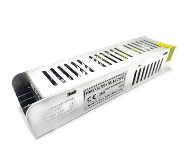 Фото1 PSMF12VDC-10A-120W - блок питания серии M, 12V, 10A, 120W, + EMC фильтр + регулятор выходного напряж