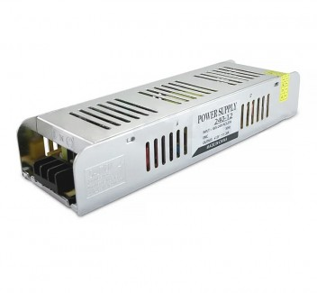 Фото1 PSMF12VDC-20A-240W - блок питания серии M, 12V, 20A, 240W, + EMC фильтр + регулятор выходного напряж