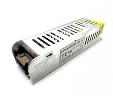 Фото1 PSMF12VDC-5A-60W - блок питания серии M, 12V, 5A, 60W, + EMC фильтр + регулятор выходного напряжения