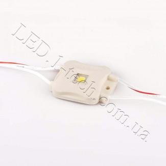 Фото2 M601.B Светодиодный модуль (1 диод SMD 5050+), 12 В, IP65, цвет - белый (6500К)