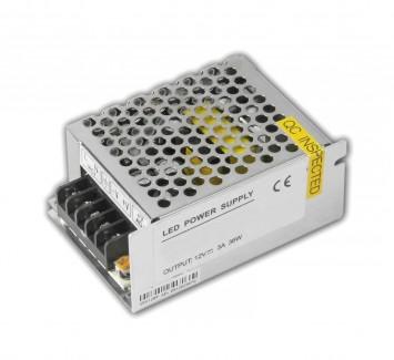 Фото1 PSMR12VDC-3A-36W - блок питания серии MR, 12V, 3A, 36W, + EMC фильтр + регулятор выходного напряжени