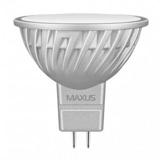 Фото1 LED лампа Maxus MR16-4W-220V 1-LED-328
