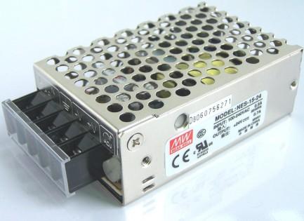 Фото1 NES-15-24 - Блок питания 24 Вольт, 15 Вт, 0,7 А