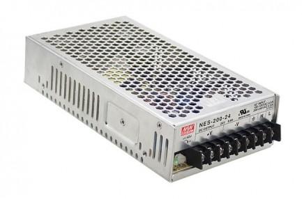Фото1 NES-200-24 - Блок питания 24 Вольт, 200 Вт, 8,33 А