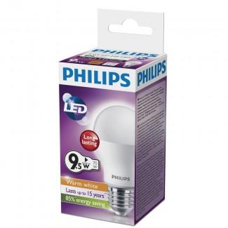 Фото3 PHILIPS E27-9.5W (warm white)