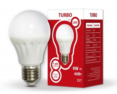Фото1 Лампа LED А60 9Вт Е27 4200K TURBO