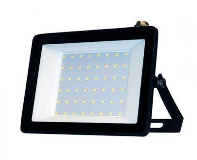 Фото1 Прожектор LED IP65 50Вт 220-265V 4500Lm 6500K ELCOR