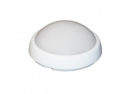 Фото1 Світильник LED IP54 12Вт круг (220x220) 4200K ELCOR