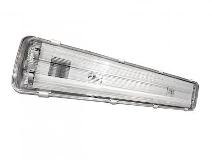 Фото1 Светильник под LED лампы Т8 IP65 1200мм ABS/РС ELCOR