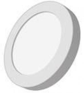 Фото1 Світлодіодна панель Lumex кругла-6Вт накладна (Ø120х40) 6400-6500K 280Lm