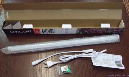 Фото5 Sunwhite 3x-mode 584mm - Настенный LED фитосветильник Sunwhite, 3 режима, длина 584 мм