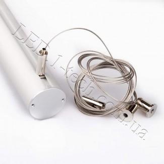 Фото2 Профиль алюминиевый для светодиодных лент №9 круглый ф.40x1000мм