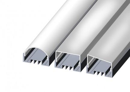 Фото5 LED-профиль ЛСО для лент П-образный с внутреней площадкой, ширина внутр. площадки 16 мм, размеры 12*