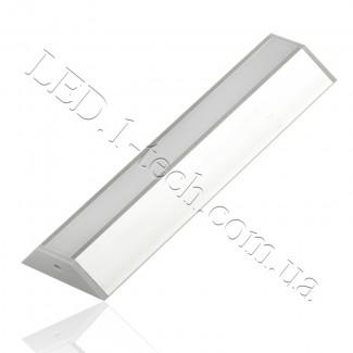 Фото1 Профиль алюминиевый для светодиодных лент №6 трапеция 12х40х13x1000мм