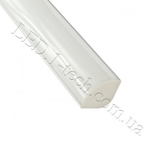 Фото3 Профиль алюминиевый для светодиодных лент №8 угловой-овальный 30х30х1000мм