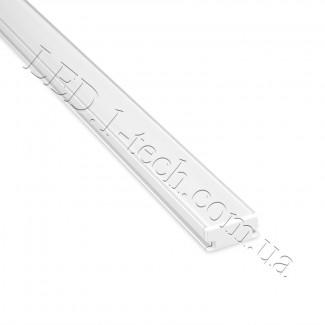 Фото1 Профиль алюминиевый для светодиодных лент №4 прямоуг. 19х8,5х1000мм