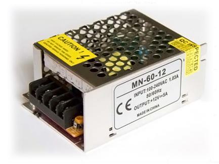 Фото1 PSС12VDC-5A-60W - Блок питания Compact 85-264VАС>12VDC-5A, 60Вт