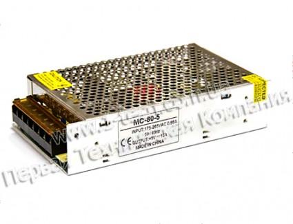 Фото1 PSMС5VDC-15A-80W - Блок питания серия Smart, 5V, 80W